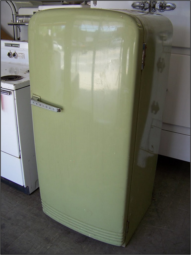 Antique Refrigerator For Sale