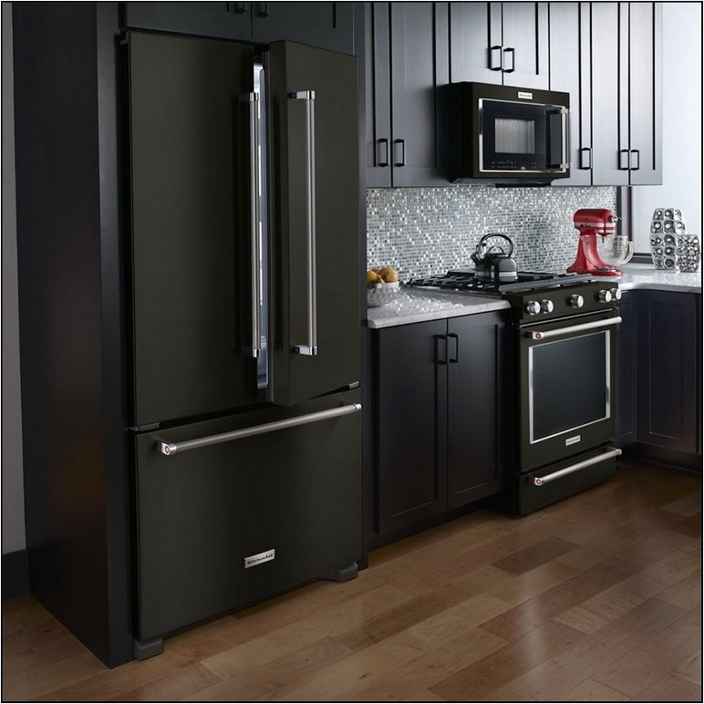 Cheap Black Stainless Steel Refrigerator
