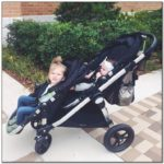 City Select Double Stroller Used