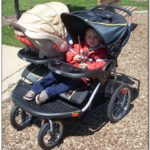 Double Jogging Stroller For Infant And Toddler