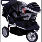 Double Jogging Stroller With Car Seat