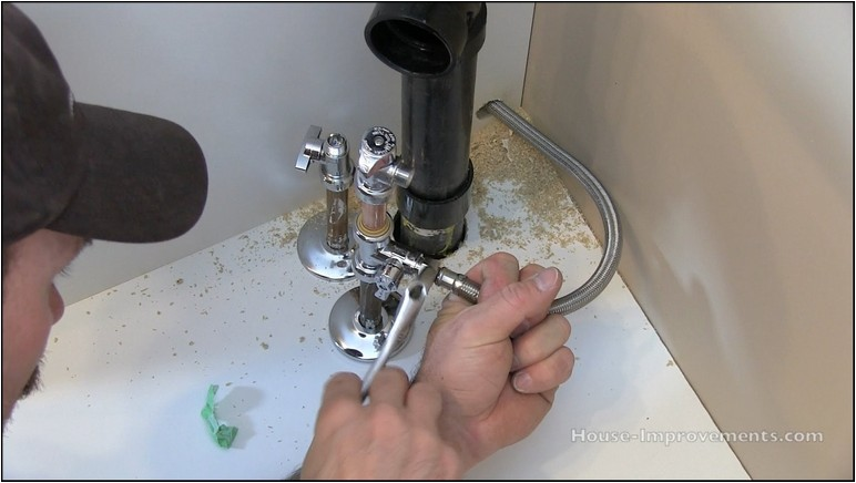 How To Install Refrigerator Water Line Kit