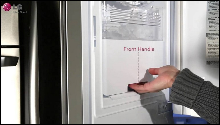 Kenmore French Door Refrigerator With Dual Ice Makers