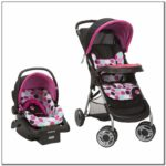 Minnie Mouse Car Seat And Stroller Set