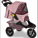 Oxgord Pet Stroller Cat Dog 3 Wheel Walk Jogger
