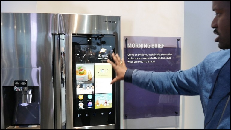 Samsung Refrigerator With Tv Screen