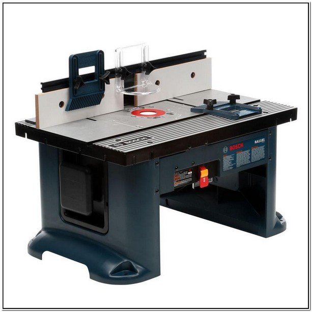 Bosch Ra1181 Benchtop Router Table Home Depot