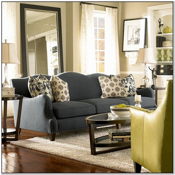What Colour Goes With Dark Grey Sofa