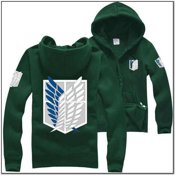 Aot Jacket Hot Topic