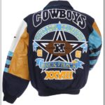 Dallas Cowboys Commemorative Leather Jacket