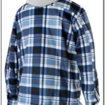 Flannel Jacket With Hood Mens