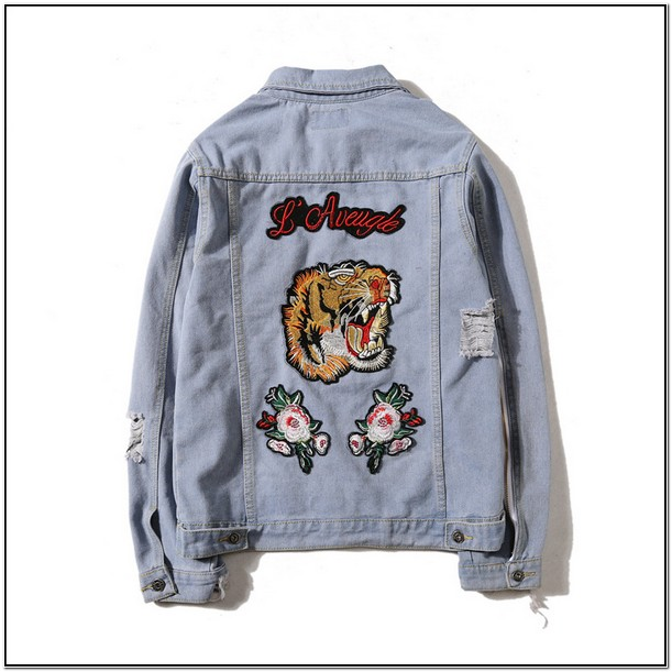 Gucci Jean Jacket Replica