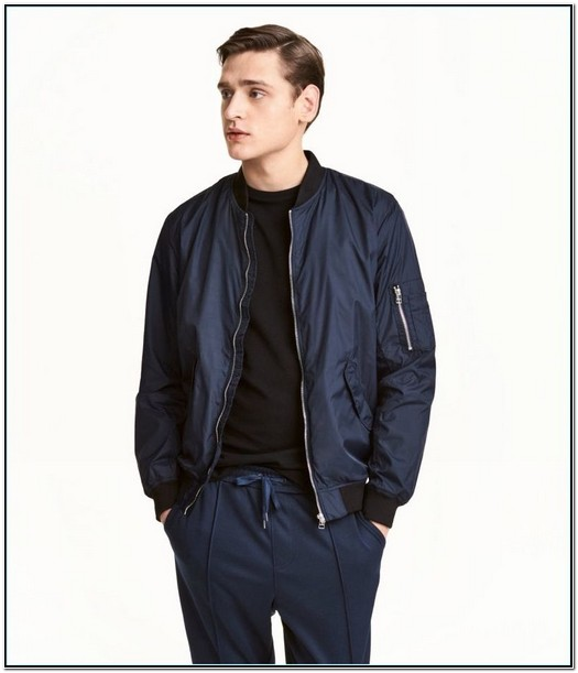 H And M Bomber Jacket Mens