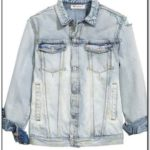 H&m Distressed Denim Jacket Mens