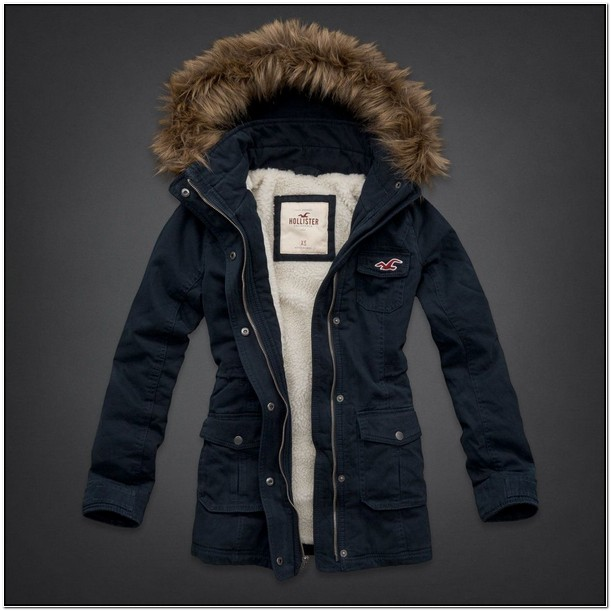 Hollister Winter Jackets For Women