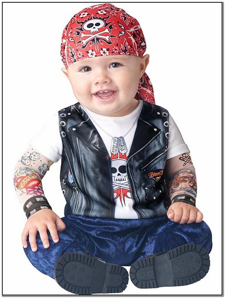 Infant Leather Jacket Costume