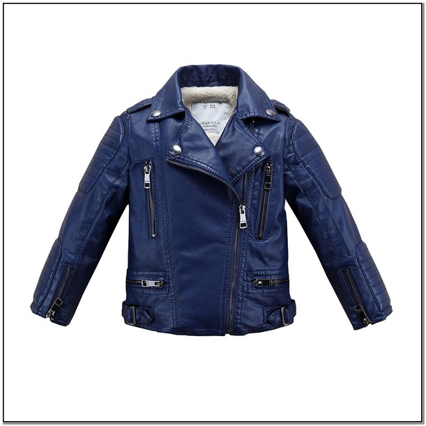 Infant Leather Jacket