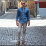 Jean Shirt Outfit Mens