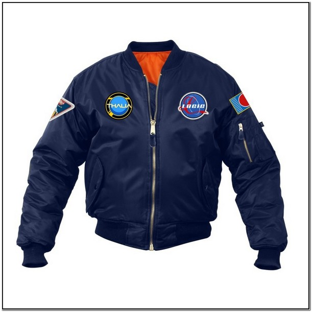 Logic Nasa Jacket Black