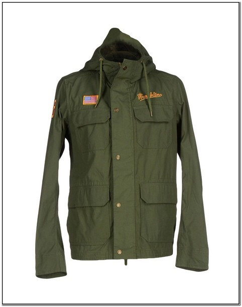 Marshalls Green Jacket