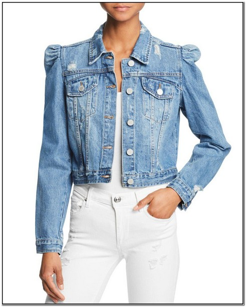 Miss Sixty Puff Sleeve Denim Jacket