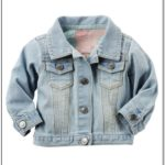 Newborn Baby Girl Jean Jacket