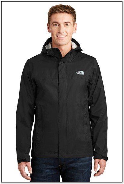 North Face Mens Rain Jacket With Hood