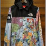 North Face Supreme Map Jacket Price