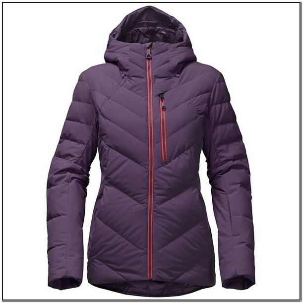 North Face Womens Down Jacket With Hood
