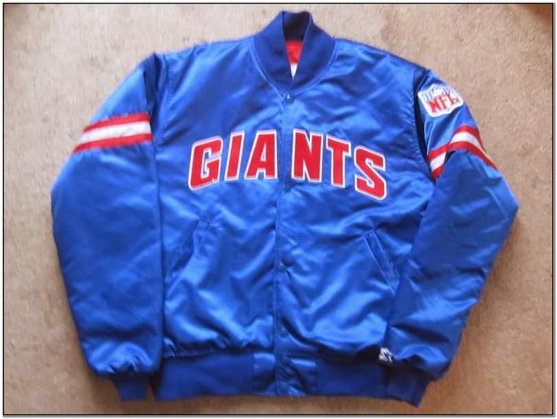 Ny Giants Satin Starter Jacket