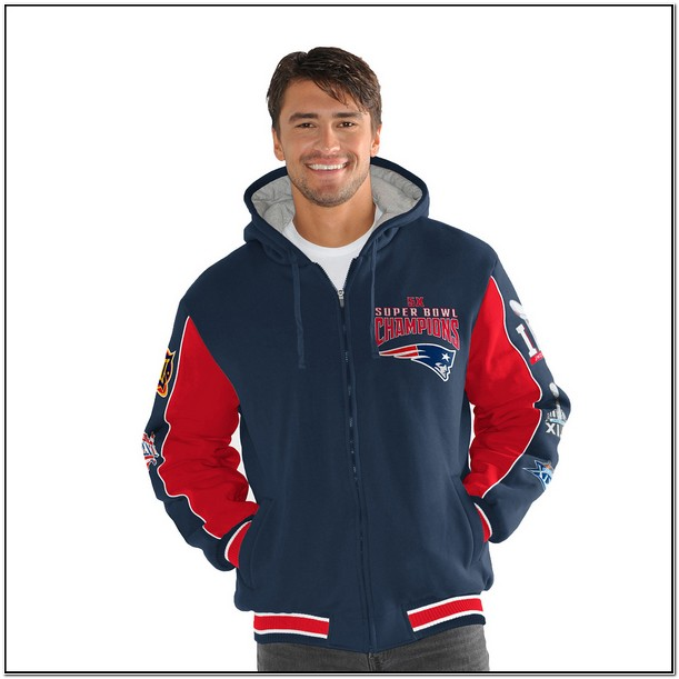 Patriots 5x Super Bowl Jacket