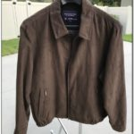 Roundtree And Yorke Leather Jacket 58909