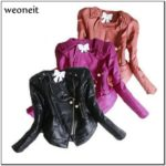 Toddler Girl Faux Leather Jacket