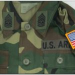 Us Army Jacket With Patches