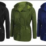 Waterproof Womens Rain Anorak Jacket