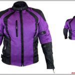 Womens Mesh Motorcycle Jacket With Armor