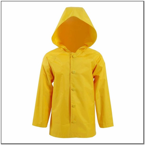 Yellow Raincoat Kid